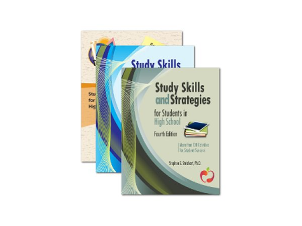 Study Skills Curriculum book covers